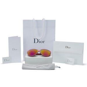 BRAND NEW Authentic Dior Pink Cat Eye Sunglasses